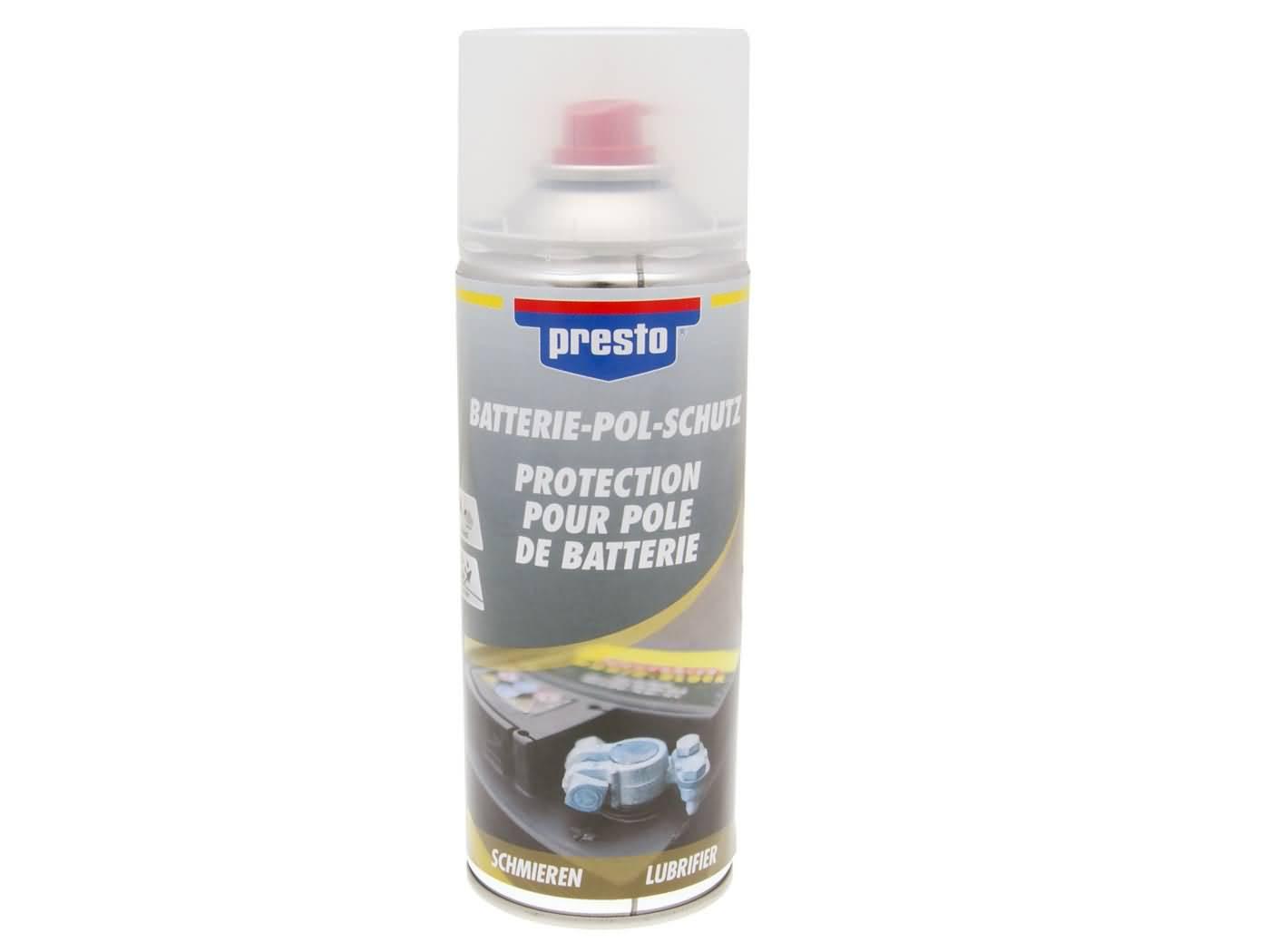 Presto akkumulátorsaru védő spray - 400ml