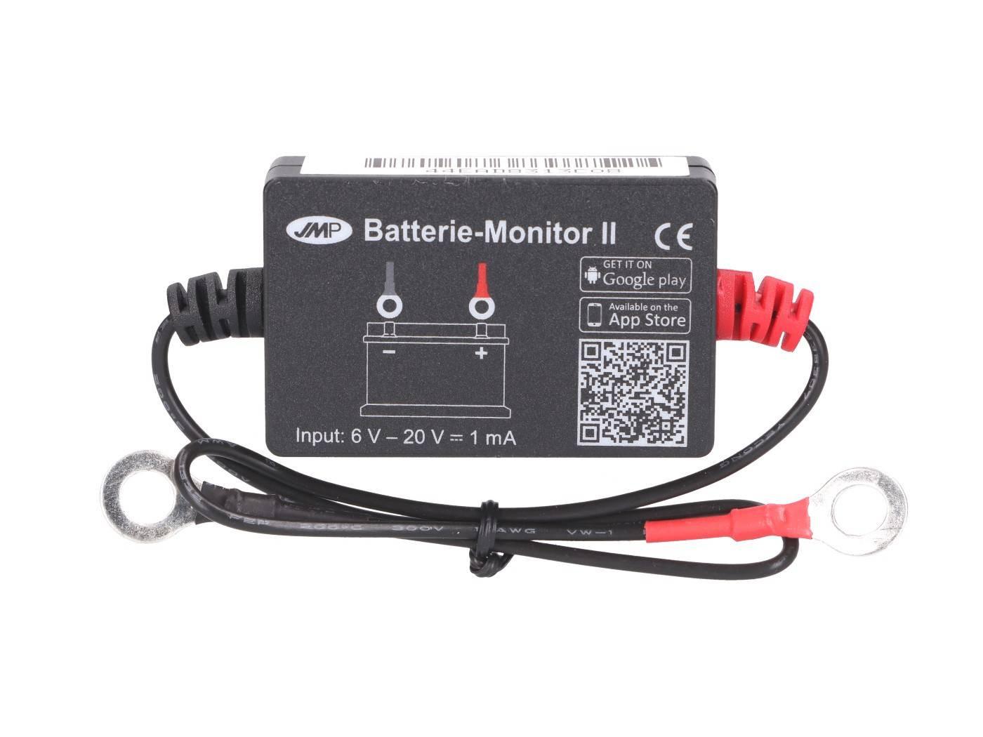 Bluetooth-os akkumulátor monitor okostelefonokhoz és tabletekhez (iOS, Android)
