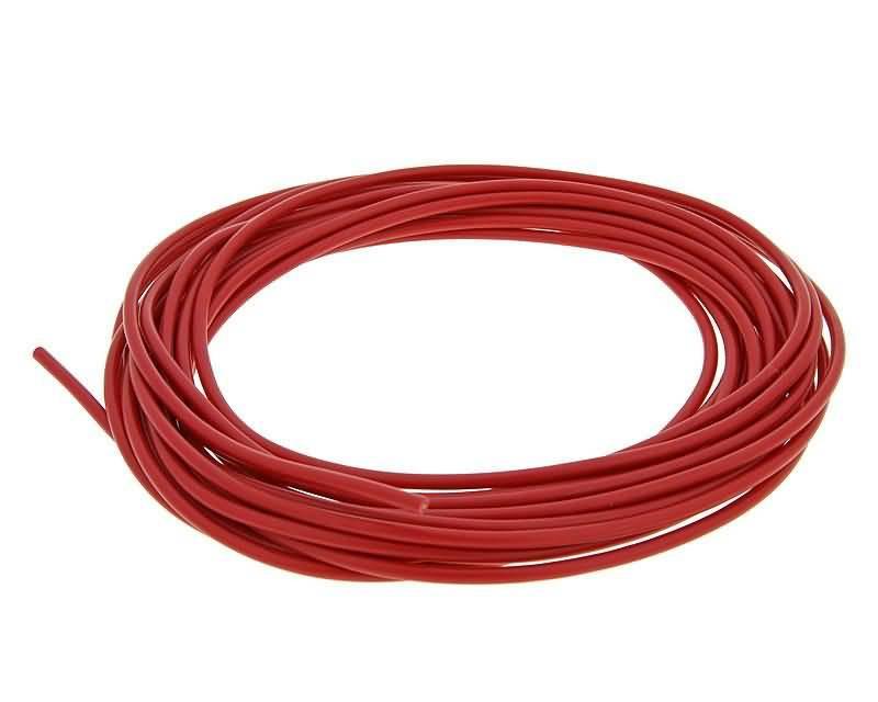 Elektromos vezeték 0.5mm - 5m - piros