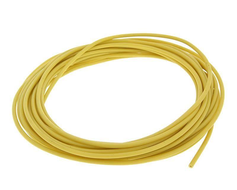 Elektromos vezeték 0.5mm - 5m - sárga