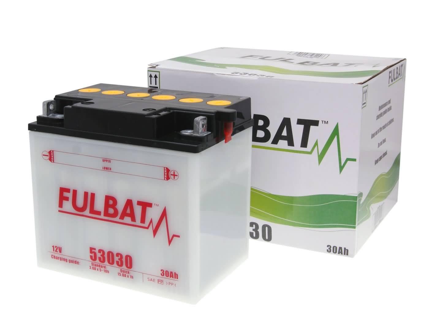 Fulbat 53030 / Y60-N30L-A DRY száraz akkumulátor + savcsomag