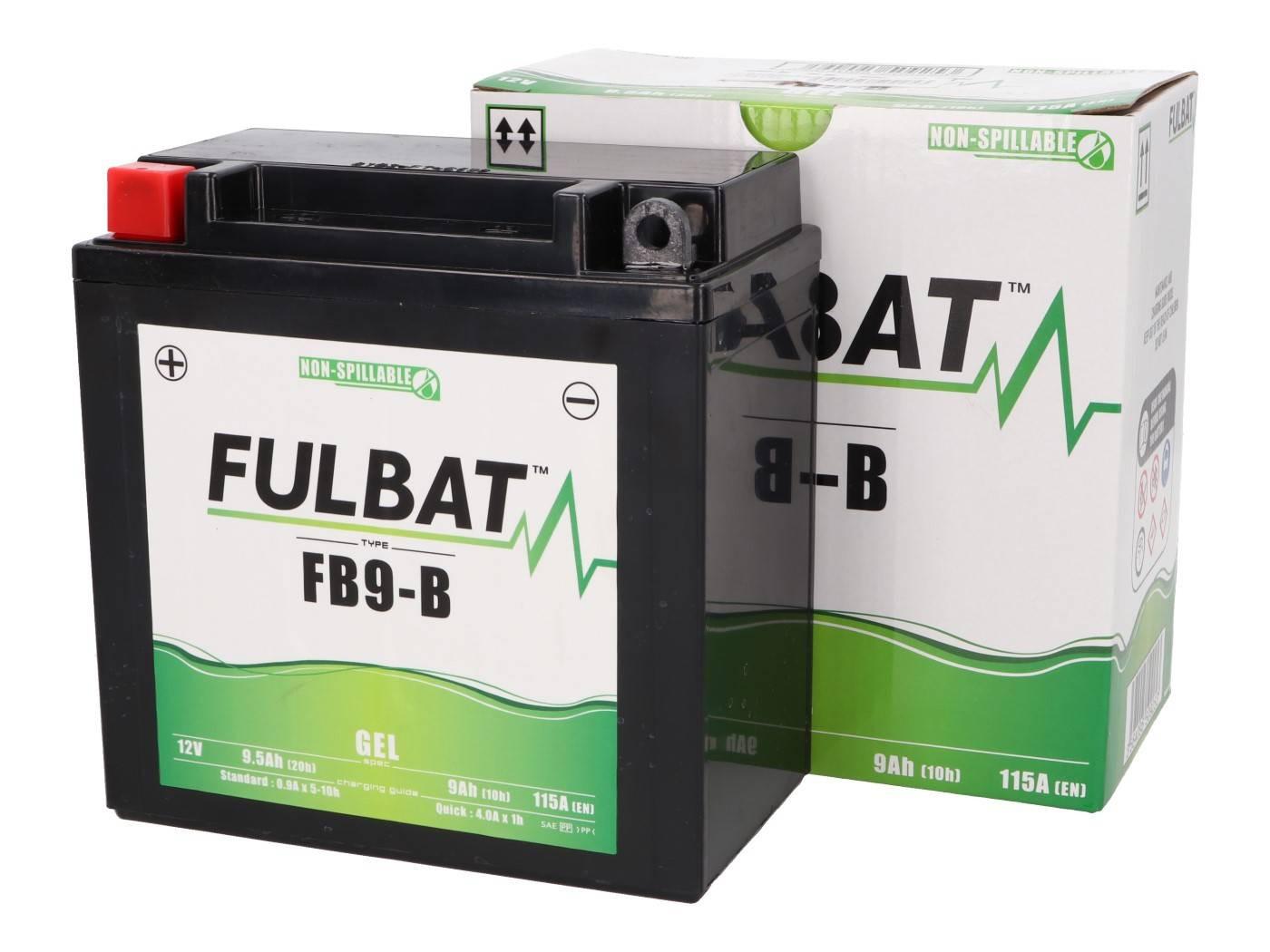 Fulbat FB9-B / 12N9-4B1 / 12N9-BS GEL zselés akkumulátor