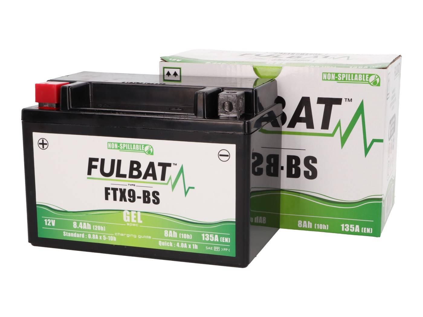 Fulbat FTX9-BS GEL zselés akkumulátor