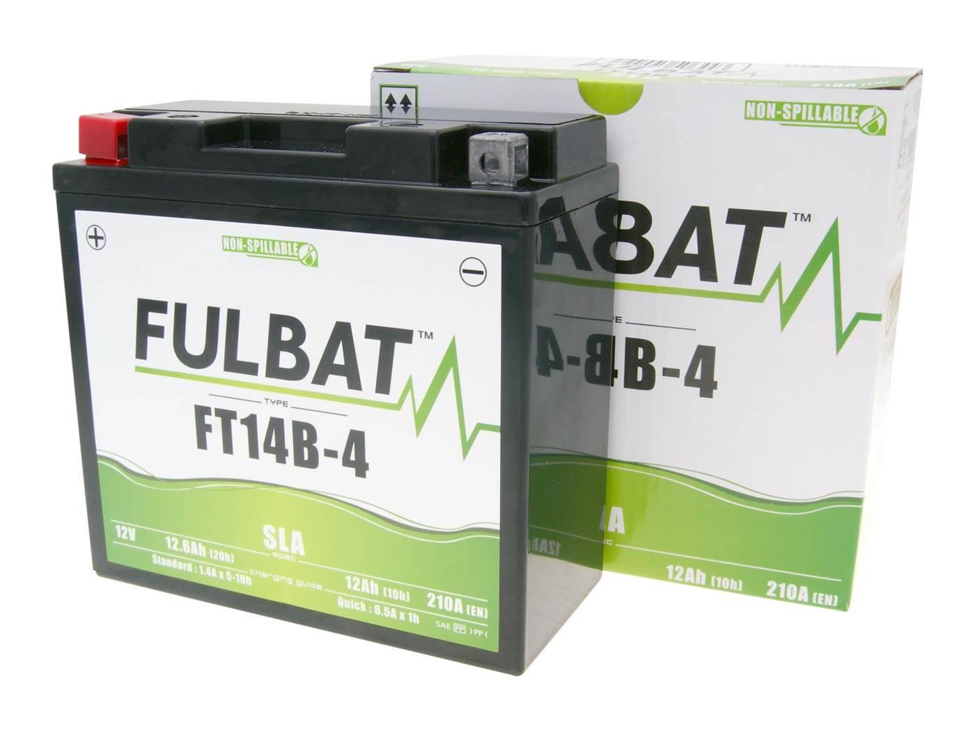 Fulbat FT14B-4 SLA zárt ólomsavas akkumulátor