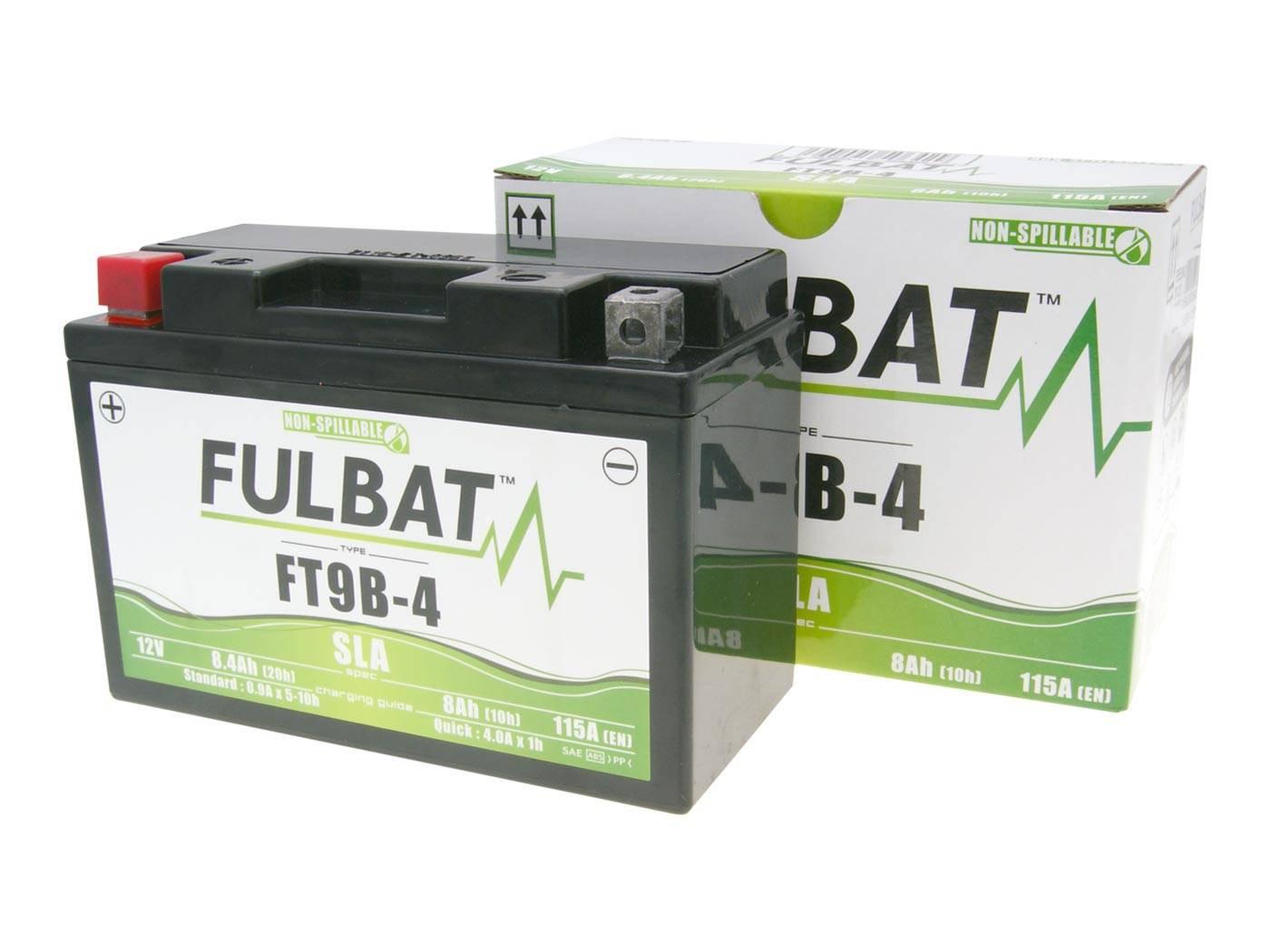 Fulbat FT9B-4 SLA zárt ólomsavas akkumulátor