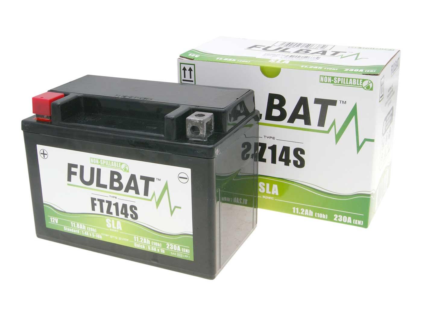 Fulbat FTZ14S SLA zárt ólomsavas akkumulátor