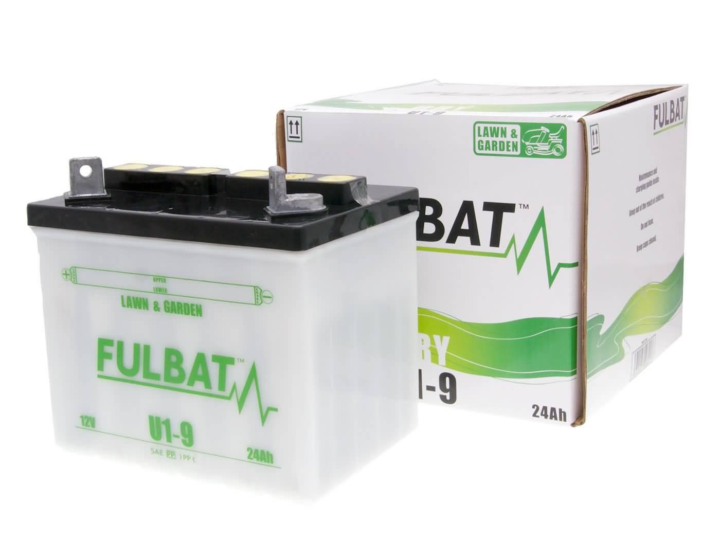Fulbat U1-9 DRY száraz akkumulátor + savcsomag