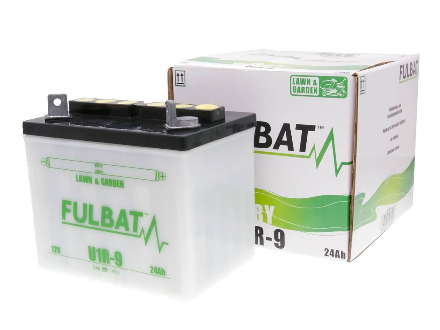 Fulbat U1R-9 DRY száraz akkumulátor + savcsomag