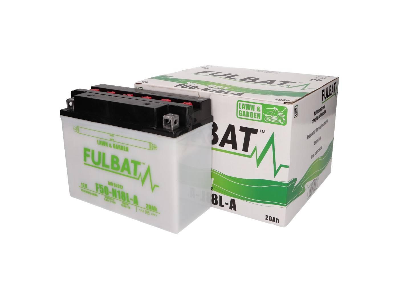 Fulbat F50N18L-A DRY száraz akkumulátor + savcsomag
