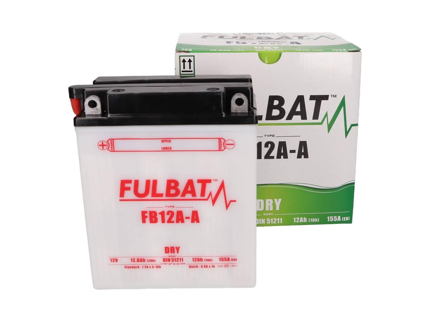 Fulbat FB30CL-B DRY száraz akkumulátor + savcsomag