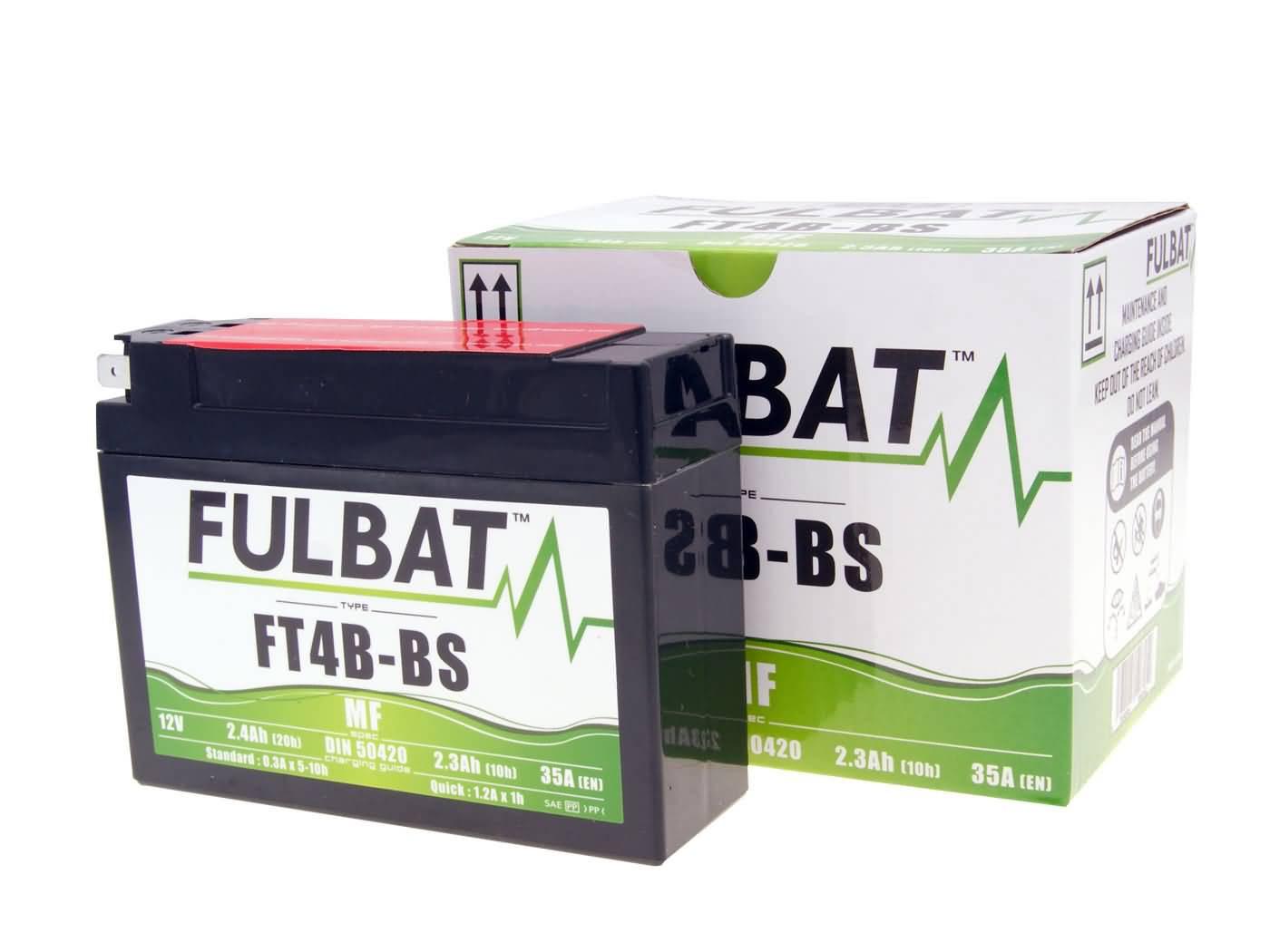 Fulbat FT4B-BS MF gondozásmentes akkumulátor