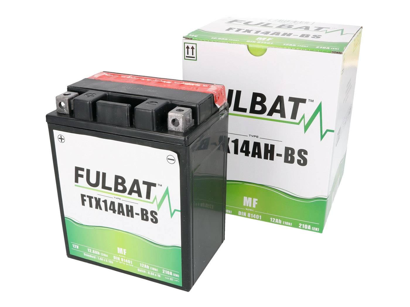 Fulbat FTX14AH-BS MF gondozásmentes akkumulátor