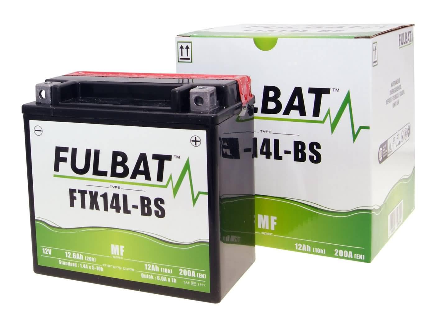 Fulbat FTX14L-BS MF gondozásmentes akkumulátor