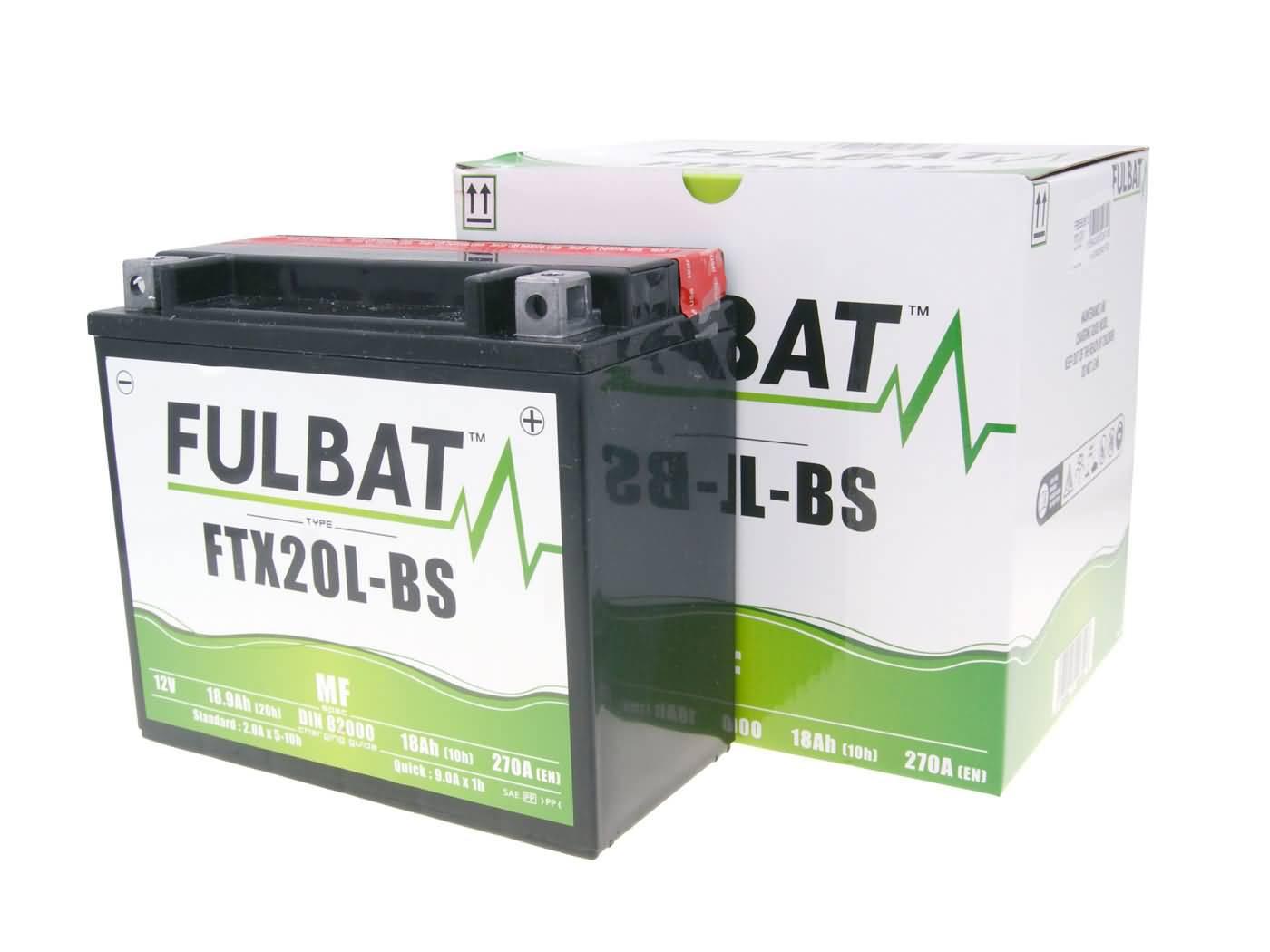 Fulbat FTX20L-BS MF gondozásmentes akkumulátor