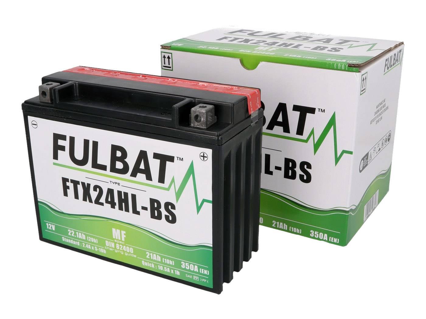 Fulbat FTX24HL-BS MF gondozásmentes akkumulátor