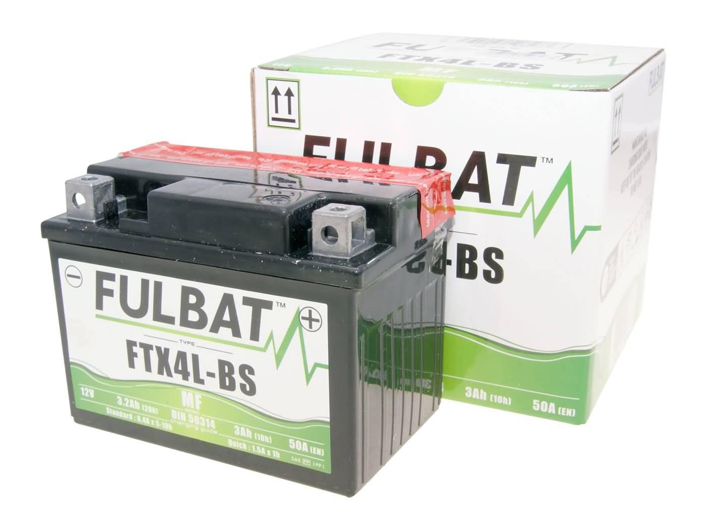 Fulbat FTX4L-BS MF gondozásmentes akkumulátor