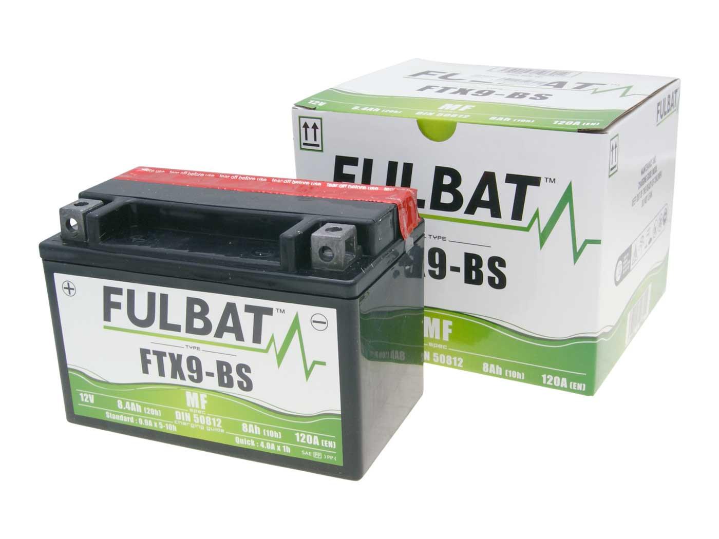 Fulbat FTX9-BS MF gondozásmentes akkumulátor
