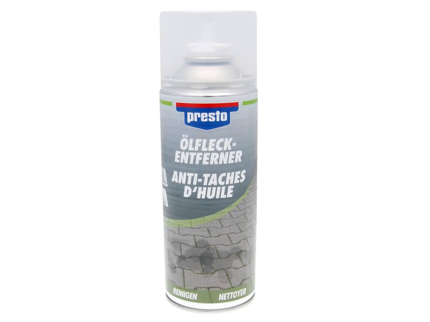 Presto olajfolt eltávolító spray - 400ml