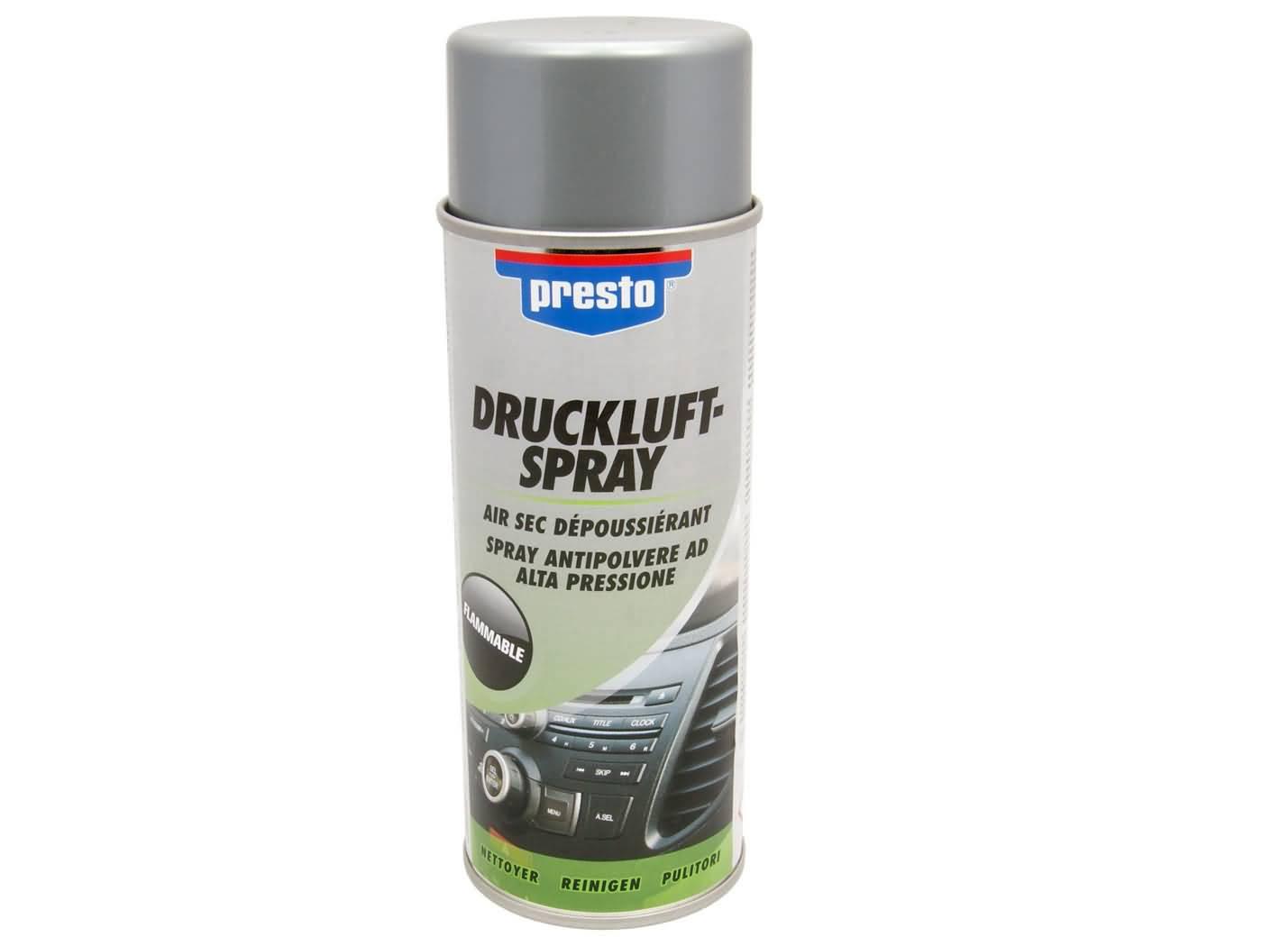 Presto sűrített levegő spray - 400ml