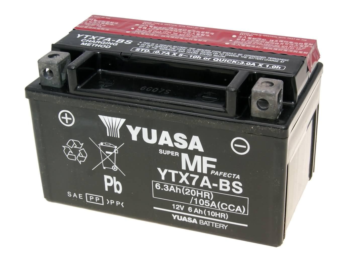 Yuasa YTX14-BS DRY MF száraz gondozásmentes akkumulátor