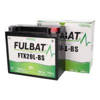 Fulbat FTX20L-BS GEL zselés akkumulátor