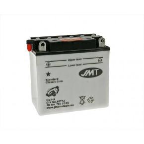 JMT Classic Line standard JMB7-A száraz akkumulátor + savcsomag