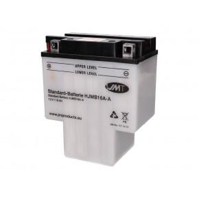JMT HJMB16A-AB száraz akkumulátor + savcsomag