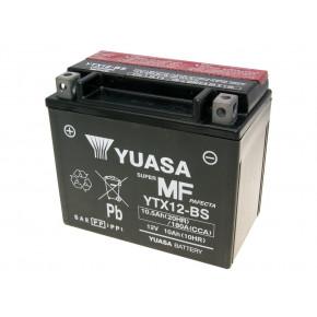 Yuasa YTX12-BS DRY MF száraz gondozásmentes akkumulátor