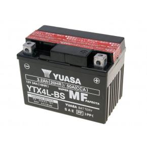 Yuasa YTX4L-BS DRY MF száraz gondozásmentes akkumulátor
