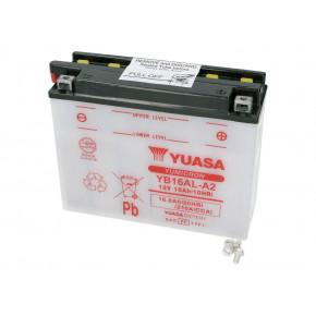 Yuasa YuMicron YB16AL-A2 akkumulátor - savcsomag nélkül