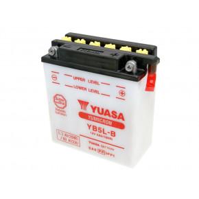 Yuasa YuMicron YB5L-B akkumulátor - savcsomag nélkül