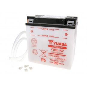 Yuasa YuMicron YB9L-A2 akkumulátor - savcsomag nélkül